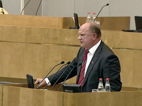 Г.А. Зюганов об итогах весенней сессии Государственной Думы