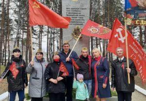 Коммунисты возложили цветы и венки к Вечным Огням в населённых пунктах Приамурья