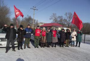 Мероприятия в честь дня Советской Армии и Военно-морского флота прошли в районах Амурской области