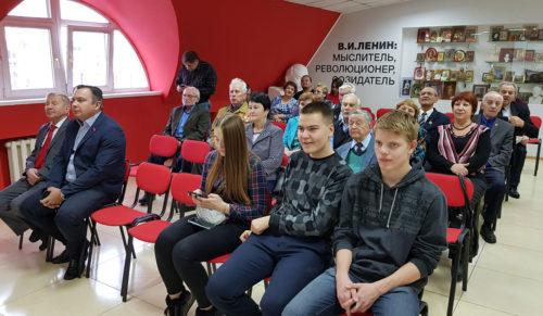 Несколько поколений комсомольцев встретились на торжественном собрании в Благовещенске