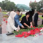 Коммунисты Амурской области провели возложение к памятнику землякам, погибшим в годы Великой Отечественной войны