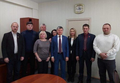 Д.Г. Новиков начал работу в Амурской области с поездки в Константиновский район