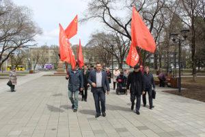 Знамя Победы реет над Амуром