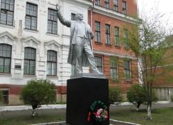 Памятник Ленину Школа№6