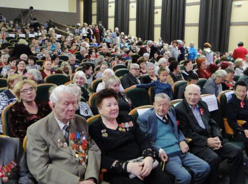 Торжественное собрание в честь 100-летия Великого Октября