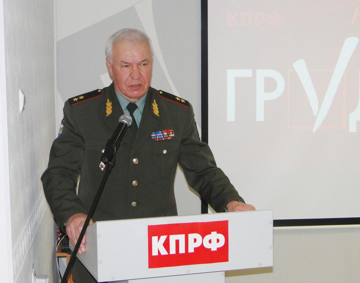 Генерал-лейтенант Виктор Соболев: Вооруженные силы России предстоит долго восстанавливать после разрушительных реформ