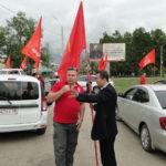 Свободный ударил автопробегом и митингом по росту цен и коррупции