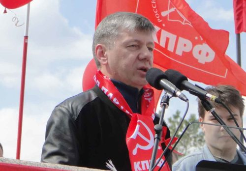 Дмитрий Новиков: Первомай – это праздник-борец!