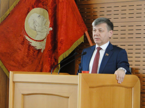 Д.Г. Новиков выступил на собрании Ассоциации депутатов КПРФ Амурской области