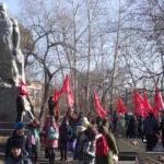 Празднование Великого Октября в Белогорске