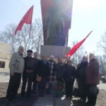 Белогорск отметил день рождения Ленина дискуссией об «Апрельских тезисах», возложением цветов и пионерской линейкой