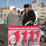 100-летие Великого Октября в Белогорске