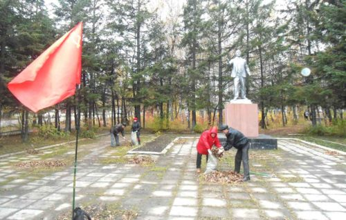 Коммунисты Свободного провели субботник