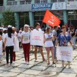 Благовещенские коммунисты пришли на митинг в защиту «скорой помощи»