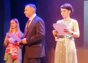 Состоялось награждение победителей конкурса «Полет Гагарина», организованного коммунистами Тынды