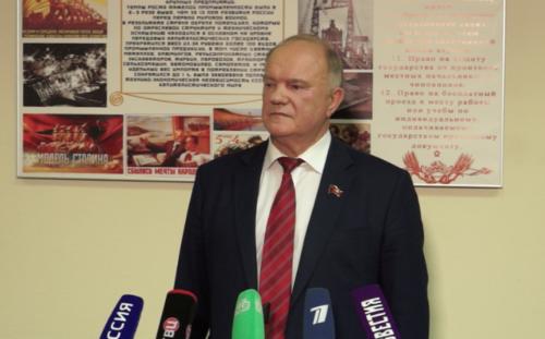 Г.А.Зюганов: «Выборы - это честные, откровенные дебаты»