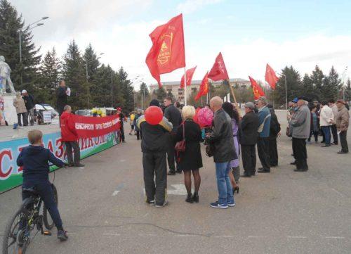 Маевка и митинг в Свободном