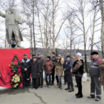 Тындинское отделение КПРФ провело субботник в день 147-й годовщины со дня рождения Ленина
