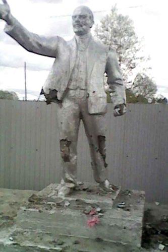 В Приамурье из-за политической ненависти разбит памятник Ленину