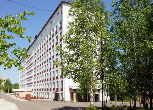 Здание стационара НУЗ «Отделенческая больница на станции Тында», ставшее предметом спора  чиновников