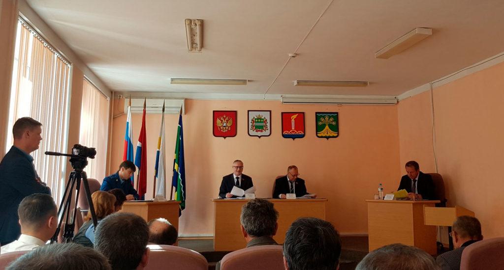 Роман Кобызов принял участие в работе Свободненского городского Совета народных депутатов