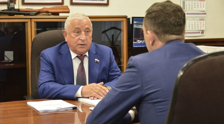 Визит Николая Харитонова в Приамурье